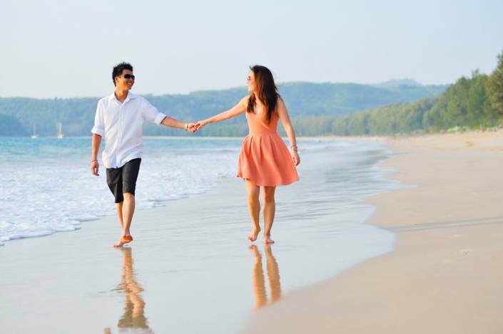 Honeymoon photoshoot for Caron and Kalvin in Phuket Thailand