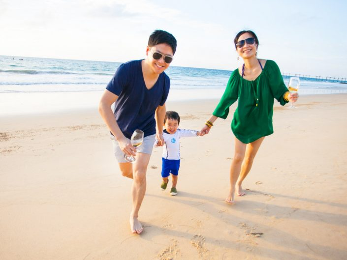 Joyce's family photo session in Phuket.