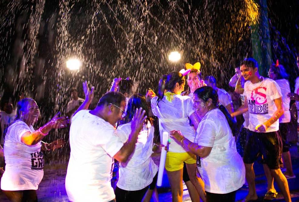 Tiluk and Muddha's Indian Wedding ceremony in Angsana Resort and Spa ,Phuket Thailand