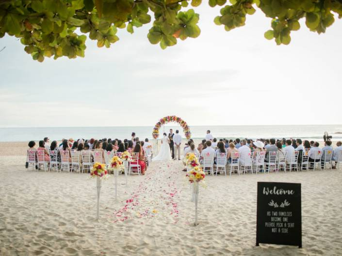 Nisha & Vikash Indian wedding ceremony in Phuket Thailand