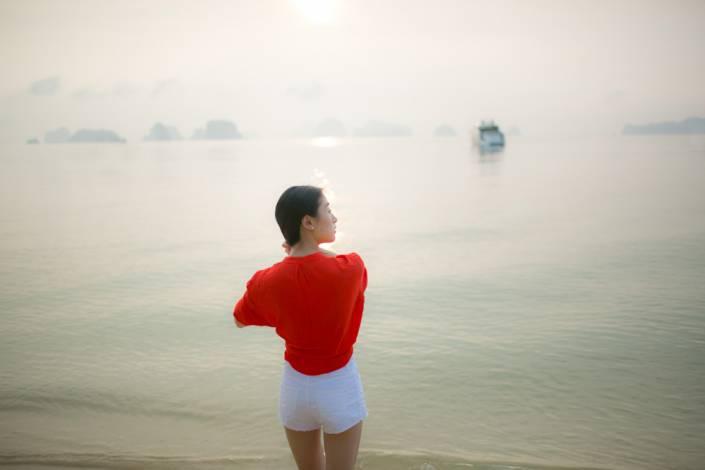 Mandy and Lim wedding 's photography shoot on Koh Yao Island ,Phang Nga Thailand