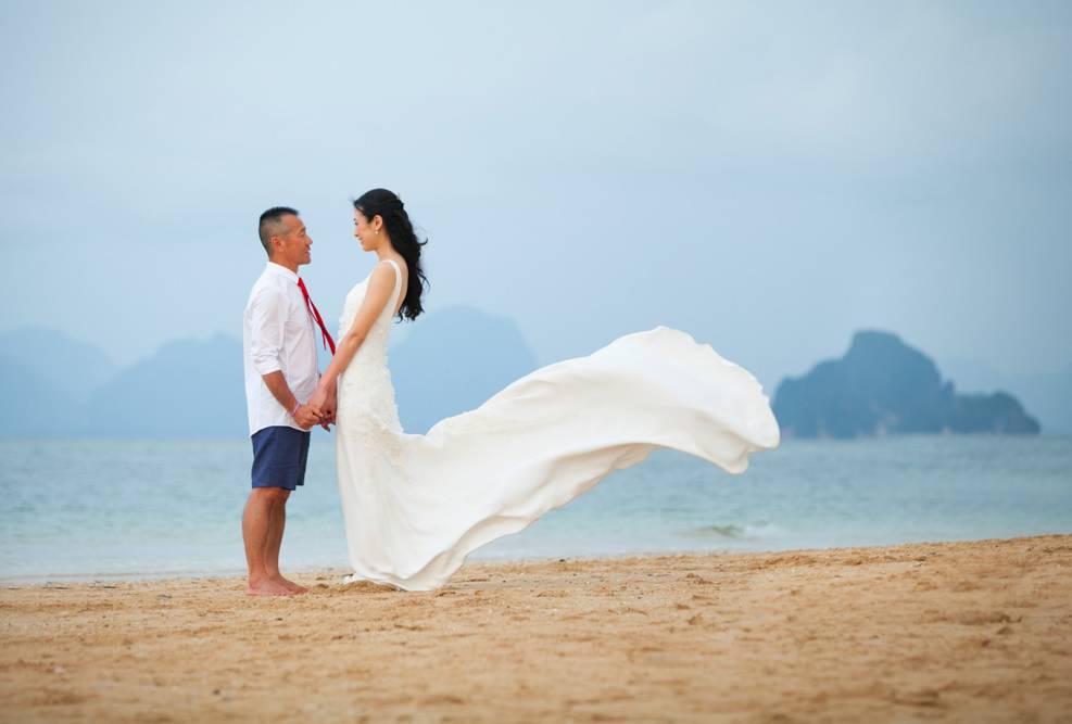 Mandy & Lim's wedding in Koh Yao