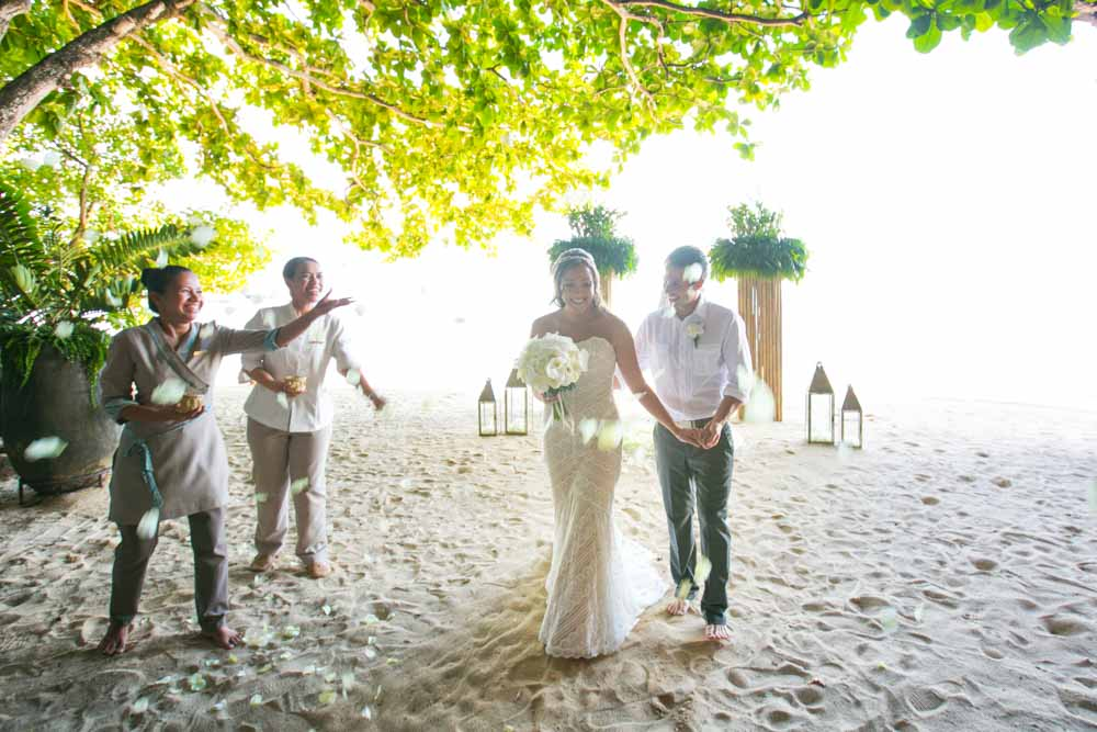 Dustin and Brandy wedding ceremony held on the 03rd July 2015 at The Grotto Rayavadee Krabi Thailand ,