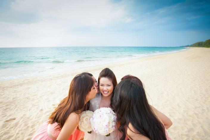 SaVA villa wedding photo set up for wedding in Thailand.