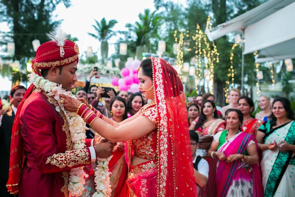 Phuket Indian wedding photography