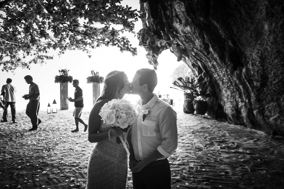 Dustin Brandy's wedding photogrsphy in Rayavadee Resort and Spa, Krabi Thailand