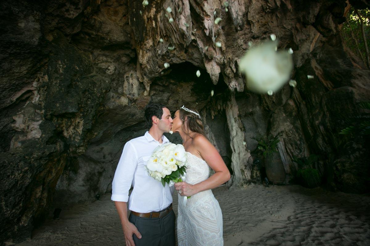 Dustin Brandy's wedding photogrsphy in Rayavadee Resort and Spa, Krabi Thailand