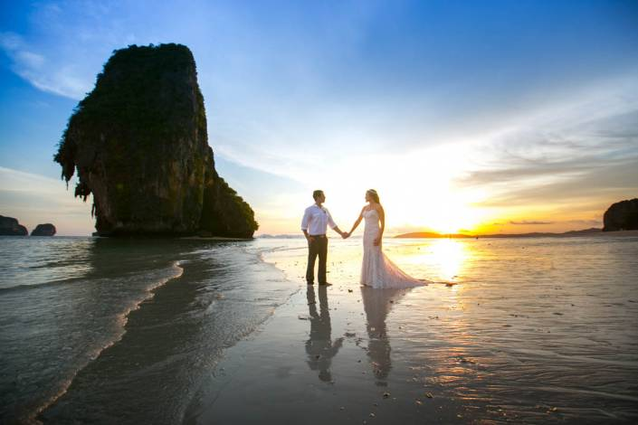Best Krabi wedding photographer shoot for Dustin wedding