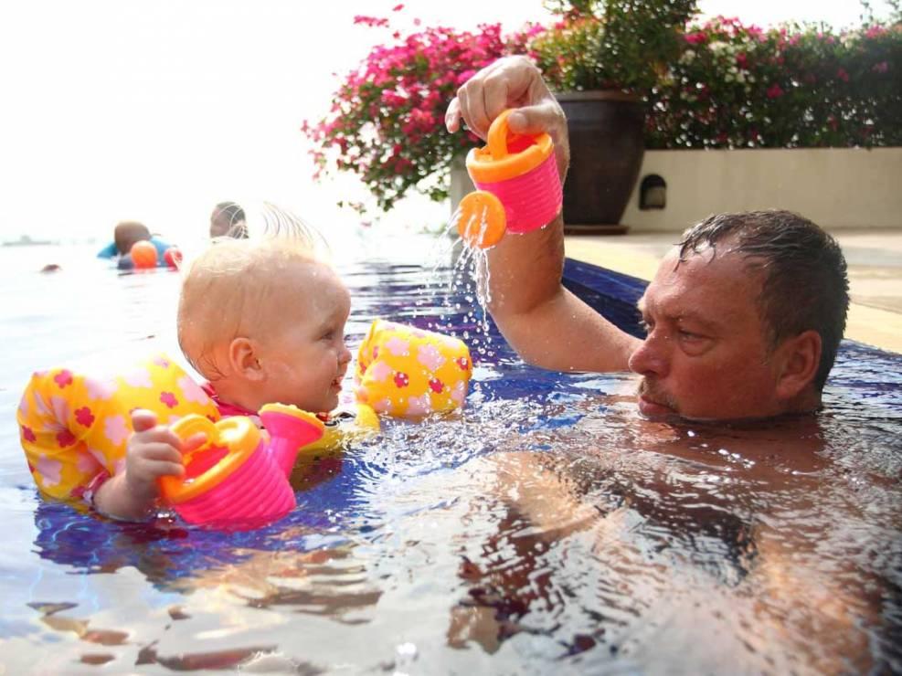 Family photo session in Phuket Thailand.