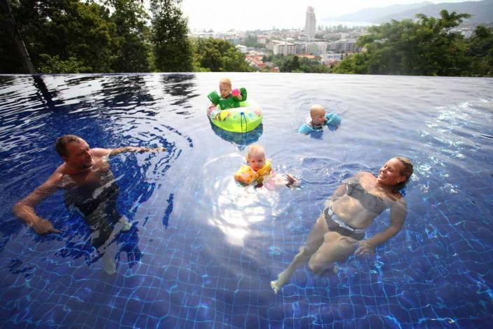 Jan's family photo session in Phuket Thailand.