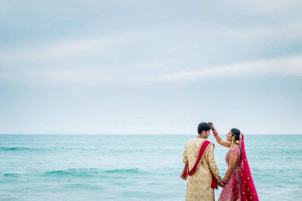 Sid and Mahek Indian wedding in destination Phuket Thailand