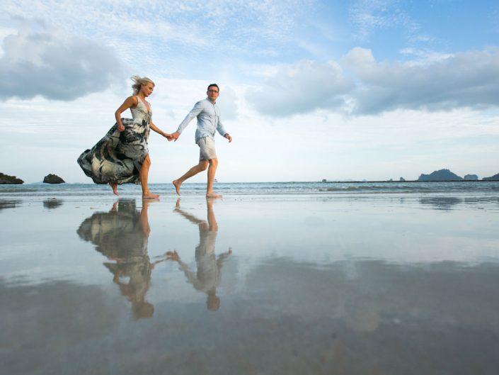 Milda and Arturas honeymoon in Krabi