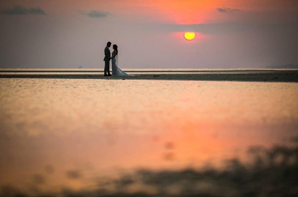 泰国专业的婚礼摄影师服务