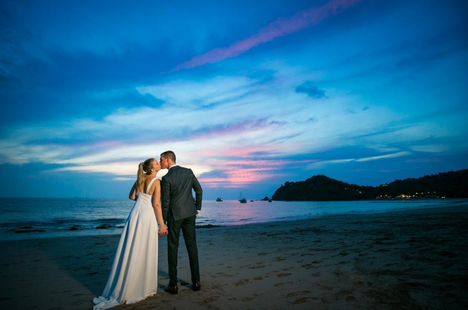 Julie with Maxime wedding in Lanta Krabi