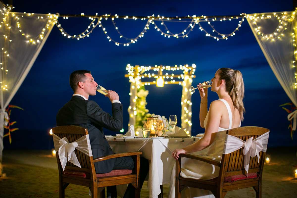 Julie and Maxime wedding photography at Koh Lanta Krabi Thailand.
