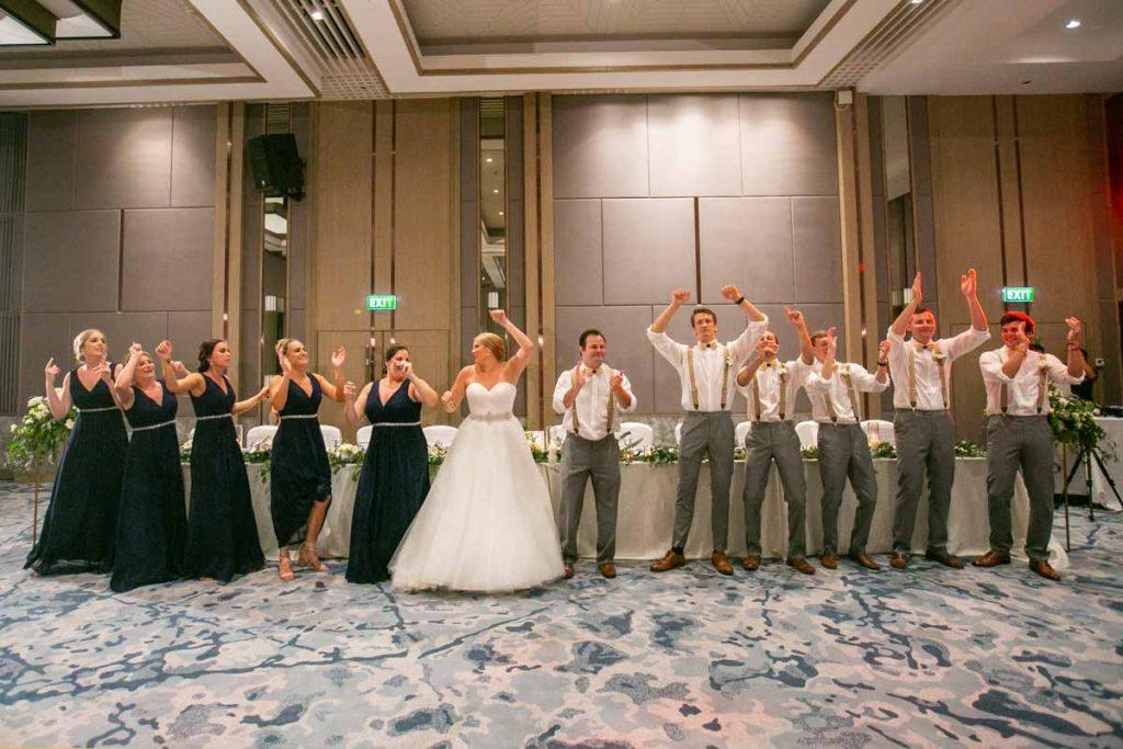 Brittany with Ben  wedding reception   at JW Marriott Merlin Beach. Phuket Thailand Photography