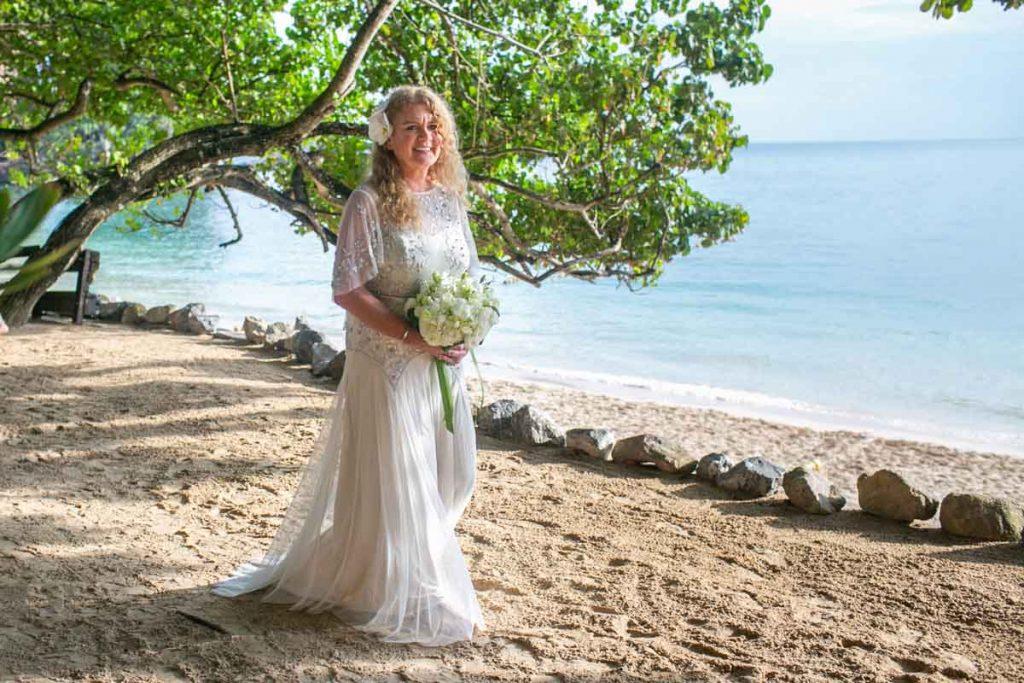Beach wedding in Krabi Thailand