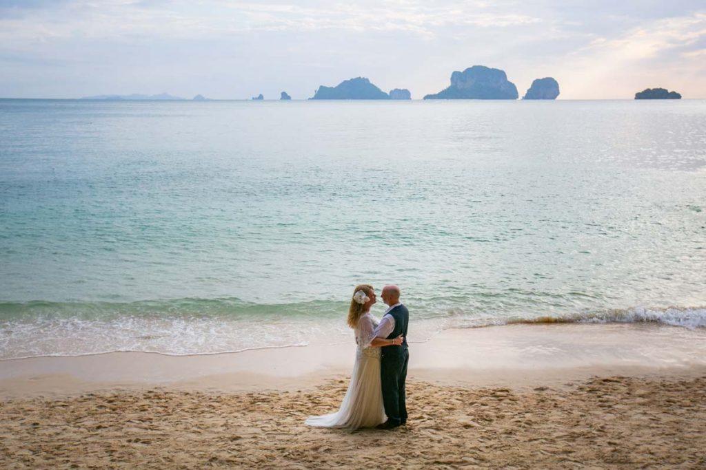 Best wedding photographer in Krabi Thailand.