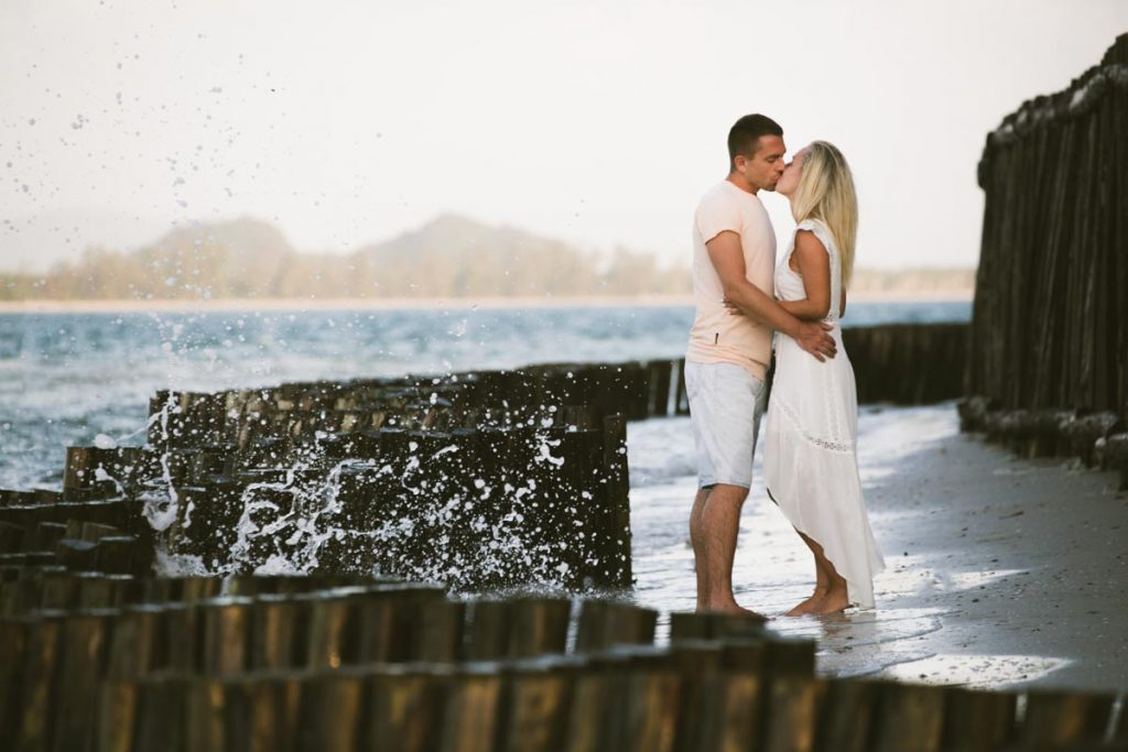 Engagement photography of Andrea and Pavel at Koh Mook Trang,Thailand.