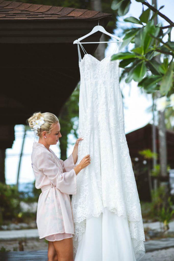 Wedding photography of Andrea and Pavel at Koh Mook Trang,Thailand.