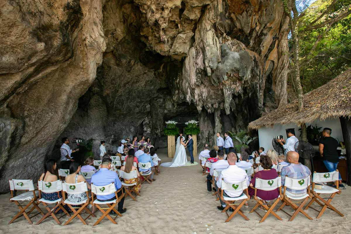 Krabi wedding photo of Zoey with Robert