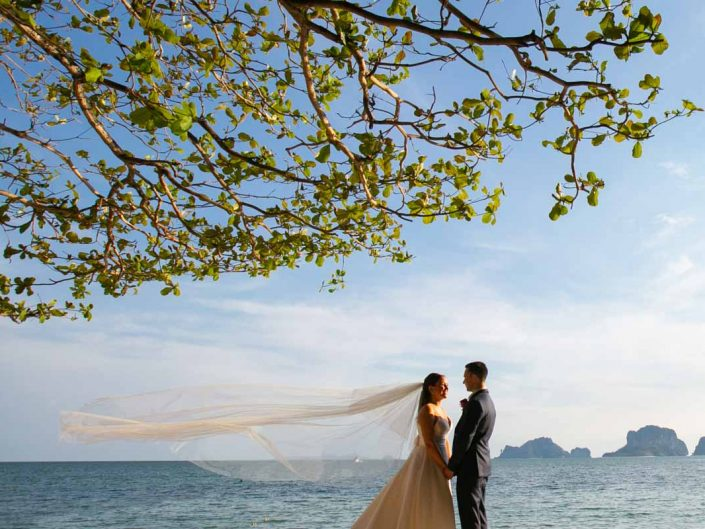 Rayavadee Krabi wedding of Zoey & Robert